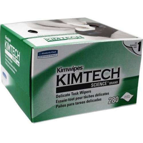 k044227 KimWipes k280 Салфетки безворсовые для печатающих головок принтеров, 280 шт, профессиональные