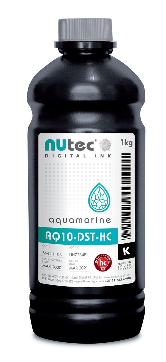 F661.1140 NUtec Сублимационные чернила Black AQUAMARINE AQ10-DST- HC B