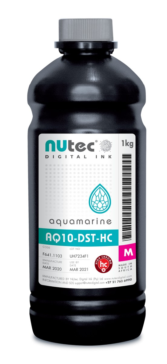 F661.1138 NUtec Сублимационные чернила Magenta AQUAMARINE AQ10-DST- HC M